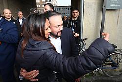 ALAN FABBRI<br /> MATTEO SALVINI MINISTRO DELL'INTERNO E LEADER LEGA A FERRARA PER SOSTENERE LA CANDIDATURA A SINDACO DI ALAN FABBRI