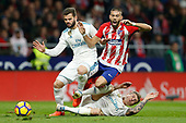 FOOTBALL - SPANISH CHAMP - ATLETICO MADRID v REAL MADRID 181117