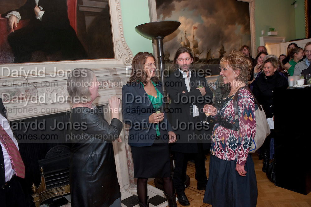 CURATOR; GILL HEDLEY; TRACEY EMIN; MAT COLLISHW; PAULA REGO, Mat Collishaw, Tracey Emin & Paula Rego: At the Foundling. Foundling Museum. Brunswick Square. London. 12 February 2010.