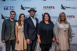 October 11, 2016 - Nashville, Tennessee, USA - Karen Peck & New River at the 47th Annual GMA Dove Awards  in Nashville, TN at Allen Arena on the campus of Lipscomb University.  The GMA Dove Awards is an awards show produced by the Gospel Music Association. (Credit Image: © Jason Walle via ZUMA Wire)