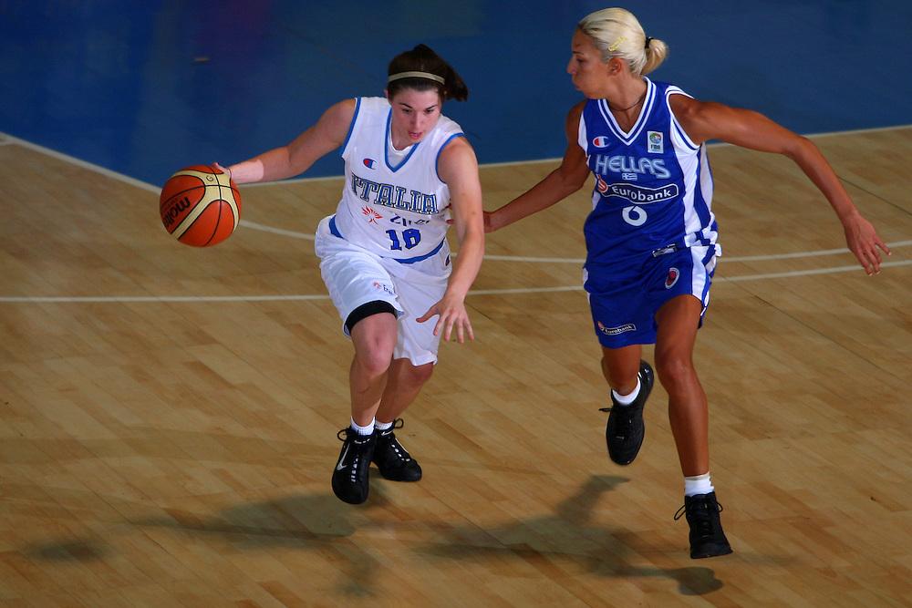 DESCRIZIONE : Bormio Torneo Internazionale Femminile Olga De Marzi Gola Italia Grecia <br /> GIOCATORE : Jami Montagnino <br /> SQUADRA : Nazionale Italia Donne Italy <br /> EVENTO : Torneo Internazionale Femminile Olga De Marzi Gola <br /> GARA : Italia Grecia Italy Greece <br /> DATA : 24/07/2008 <br /> CATEGORIA : Palleggio <br /> SPORT : Pallacanestro <br /> AUTORE : Agenzia Ciamillo-Castoria/S.Silvestri <br /> Galleria : Fip Nazionali 2008 <br /> Fotonotizia : Bormio Torneo Internazionale Femminile Olga De Marzi Gola Italia Grecia <br /> Predefinita :