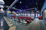 Blacksburg Mellow Mushroom Restaurant Interior Image in Virginia by Jeffrey Sauers of Commercial Photographics, Architectural Photo Artistry in Washington DC, Virginia to Florida and PA to New England