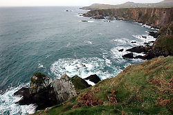 IRELAND KERRY DINGLE 3NOV05 - Coastal landscape at Slea Head on the Dingle Peninsula, Irelands most westerly county...jre/Photo by Jiri Rezac..© Jiri Rezac 2005..Contact: +44 (0) 7050 110 417.Mobile: +44 (0) 7801 337 683.Office: +44 (0) 20 8968 9635..Email: jiri@jirirezac.com.Web: www.jirirezac.com..© All images Jiri Rezac 2005 - All rights reserved.