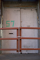 Doors to 57 Jay Street DUMBO Brooklyn New York