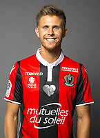 Arnaud Souquet during a photoshoot of Nice on 3rd September 2017<br /> Photo : OGC Nice / Icon Sport