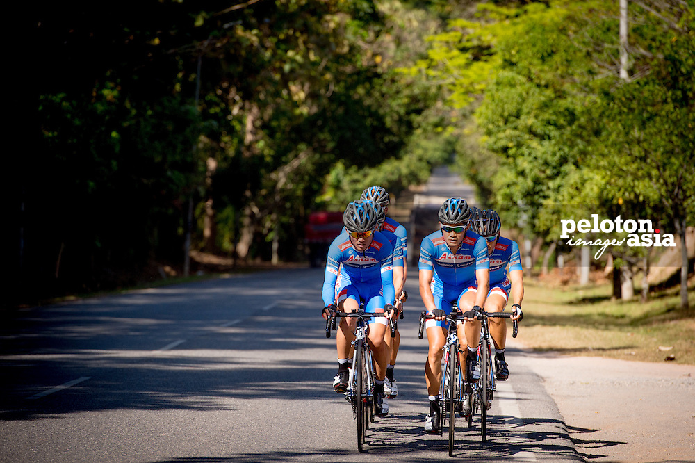 Le Tour de Langkawi 2015/ Pre Race/Hideto Nakane / Tomohiro Hayakawa/ Aisan Racing/ Training/