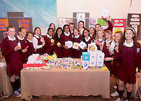 St Ita's Loughrea at the Medtronic Community Event , comprising of projects about Healthy Living and the heart, KNEX finals and Lean Sigma catapult competition organised by the Galway Education Centre at the Radisson Blu Hotel Galway. Photo:Andrew Downes.