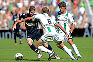 Onderwerp/Subject: FC Groningen - Willem II - Eredivisie<br /> Reklame:  <br /> Club/Team/Country: <br /> Seizoen/Season: 2012<br /> FOTO/PHOTO: Maikel KIEFTENBELD (C) of FC Groningen and Kees KWAKMAN (R) of FC Groningen n duel with Marc HOCHER (L) of Willem II. (Photo by PICS UNITED)<br /> <br /> Trefwoorden/Keywords: <br /> #04 $94 ±1341399422636<br /> Photo- & Copyrights © PICS UNITED <br /> P.O. Box 7164 - 5605 BE  EINDHOVEN (THE NETHERLANDS) <br /> Phone +31 (0)40 296 28 00 <br /> Fax +31 (0) 40 248 47 43 <br /> http://www.pics-united.com <br /> e-mail : sales@pics-united.com (If you would like to raise any issues regarding any aspects of products / service of PICS UNITED) or <br /> e-mail : sales@pics-united.com   <br /> <br /> ATTENTIE: <br /> Publicatie ook bij aanbieding door derden is slechts toegestaan na verkregen toestemming van Pics United. <br /> VOLLEDIGE NAAMSVERMELDING IS VERPLICHT! (© PICS UNITED/Naam Fotograaf, zie veld 4 van de bestandsinfo 'credits') <br /> ATTENTION:  <br /> © Pics United. Reproduction/publication of this photo by any parties is only permitted after authorisation is sought and obtained from  PICS UNITED- THE NETHERLANDS