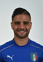 FLORENCE, ITALY - JUNE 01:  Lorenzo Insigne of Italy poses for a photo ahead of the UEFA Euro 2016 at Coverciano on June 1, 2016 in Florence, Italy.  Foto Claudio Villa/FIGC Press Office/Insidefoto