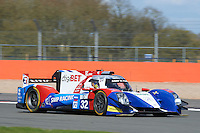 Stefano Coletti (MCO) / Juli?n Leal (COL) / Andreas Wirth (DEU)  #32 SMP Racing, BR Engineering BR01, Nissan VK45DE 4.5 L V8, during the Race  as part of the ELMS 4 Hours of Silverstone 2016 at Silverstone, Towcester, Northamptonshire, United Kingdom. April 16 2016. World Copyright Peter Taylor. Copy of publication required for printed pictures.