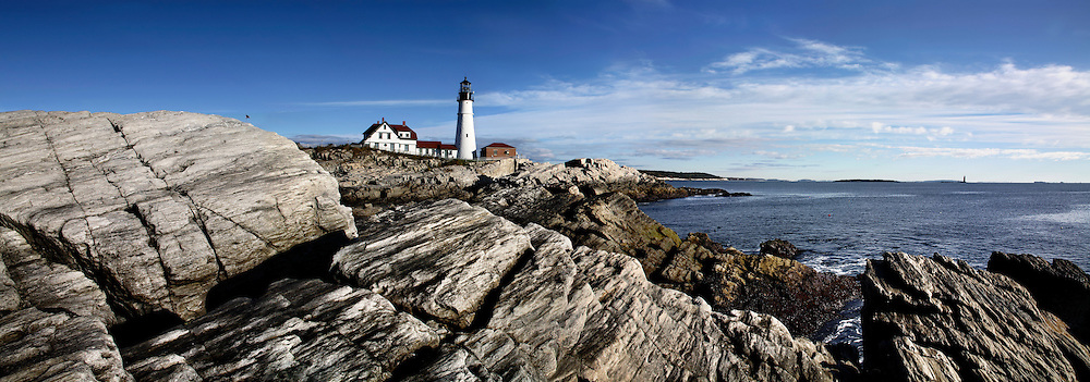 Portland Head Light In The Morning, Portland Maine