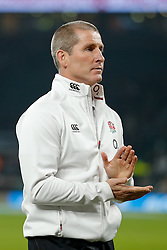 England Head Coach Stuart Lancaster looks on after the game - Photo mandatory by-line: Rogan Thomson/JMP - 07966 386802 - 22/11/2014 - SPORT - RUGBY UNION - London, England - Twickenham Stadium - England v Samoa - QBE Autumn Internationals.