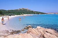 "Cala dei Cavaliere - Budelli island - Maddalena archipelago - International Marin park of ""Bouches de Bonifacio"" - Sardinia - Italy"