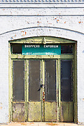 Old Shoppers Emporium for buying and selling in Main Street, Downtown Natchez, Mississippi USA