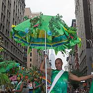 New York. gay pride parade on fifth avenue Usa  LGBT /  la gay pride parade annuelle sur la Cinquieme avenue New York  Usa