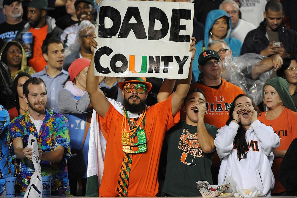 2013 Miami Hurricanes Football @ North Carolina