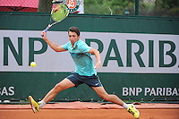 Clement LARRIERE  - 01.06.2015 - Jour 9 - Juniors - Roland Garros 2015<br />Photo : Nolwenn Le Gouic / Icon Sport
