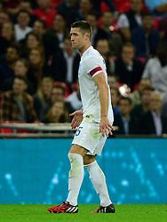 England's Gary Cahill (Chelsea) - Photo mandatory by-line: Joe Meredith/JMP - Mobile: 07966 386802 - 3/09/14 - SPORT - FOOTBALL - London - Wembley Stadium - England v Norway - International Friendly