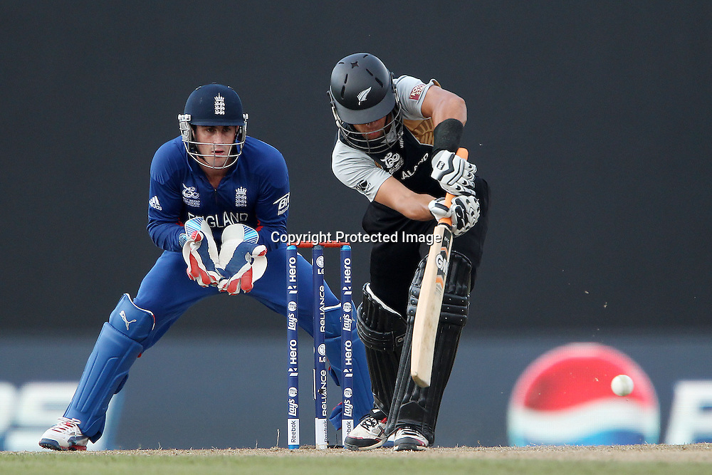 Ross Taylor (Captain) during the ICC World Twenty20 Super 8s match between England and New Zealand held at the  Pallekele Stadium in Kandy, Sri Lanka on the 29th September 2012<br /> <br /> Photo byRon Gaunt/SPORTZPICS/PHOTOSPORT