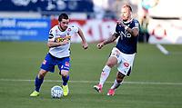 Fotball , 27. mai 2018 , Eliteserien ,  Strømsgodset - Sandefjord<br /> Marcus Pedersen , SIF<br /> Pau Morer  ,  Sandefjord