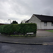 'Union Road, Gretna, 2013' from 'A Fine Line - Exploring Scotland's Border with England' by Colin McPherson.<br /> <br /> Union Road, a reference to the 1707 Treaty of Union between Scotland and England.<br /> <br /> The project was a one-year exploration of the border between the two historic nations, as seen from the Scottish side of the frontier.<br /> <br /> Colin McPherson is a photographer and visual artist based in north west England. In 2012 he was one of the founding members of Document Scotland, a collective of four Scottish documentary photographers brought together by a common vision to witness and photograph the important and diverse stories within Scotland at one of the most important times in our nation's history.<br /> <br /> 'A Fine Line' will be shown for the first time in public at Impressions Gallery, Bradford, from July 1 until September 27, 2014 to coincide with the Scottish Independence referendum.
