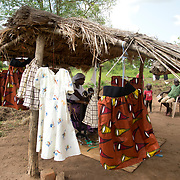 Uganda . Amelo Pakelle community, Adjumani. Peace Lazio , a tailor.  She is 28 years old and has epilepsy.