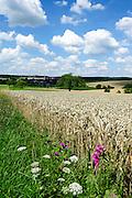 Landschaft im Odenwald, Hessen, Deutschland