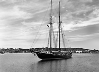 The Bluenose II schooner, Lunenburg, Harbour, Nova Scotia, Canada