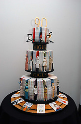 Birthday cake at a party to celebrate the 90th birthday of Vogue magazine held at The Serpentine Gallery, Kensington Gardens, London on 8th November 2006.<br /><br />NON EXCLUSIVE - WORLD RIGHTS