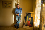 David Davis, an unemployed IT worker photographed in his home in Fairfax, Virginia Dec. 27, 2013. Photo Ken Cedeno
