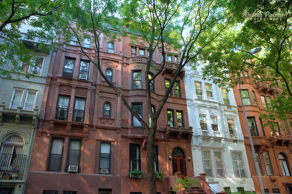 Townhouses in Upper Westside, Manhattan
