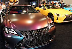Over 160,000 people attended the annual SEMA Auto Show in Las Vegas, NV. This is the new Lexus display. (Credit Image: © Barry Sweet/ZUMA Wire)
