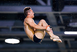 Tom Daley of Great Britain practices - Photo mandatory by-line: Rogan Thomson/JMP - 07966 386802 - 21/08/2014 - SPORT - DIVING - Berlin, Germany - SSE im Europa-Sportpark - 32nd LEN European Swimming Championships 2014 - Day 9.