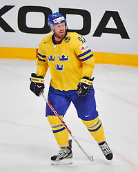 11.05.2012, Ericsson Globe, Stockholm, SWE, IIHF, Eishockey WM, Russland (RUS) vs Schweden (SWE), im Bild, Sverige Sweden 93 Johan Franzen angry // during the IIHF Icehockey World Championship Game between Russia (RUS) and Sweden (SWE) at the Ericsson Globe, Stockholm, Sweden on 2012/05/11. EXPA Pictures © 2012, PhotoCredit: EXPA/ PicAgency Skycam/ Simone Syversson..***** ATTENTION - OUT OF SWE *****