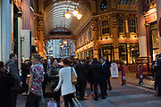 Leadenhall Market, City of London. October 5 2018