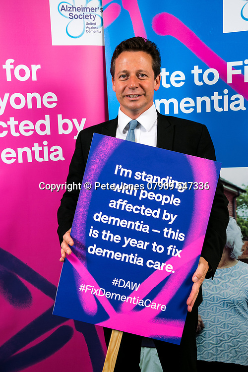 """Nigel Huddlestone MP;<br /> Alzheimer's Society;<br /> """"Fix Dementia Care & State of the Nation""""<br /> Parliamentary report Launch;<br /> Houses of Parliament, Westminster.<br /> 23rd May 2018.<br /> <br /> © Pete Jones<br /> pete@pjproductions.co.uk"""