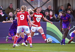 Ella Rutherford of Bristol City - Mandatory by-line: Paul Knight/JMP - 17/11/2018 - FOOTBALL - Stoke Gifford Stadium - Bristol, England - Bristol City Women v Liverpool Women - FA Women's Super League 1