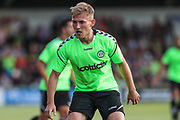 Forest Green Rovers George Williams(11) during the Pre-Season Friendly match between Forest Green Rovers and Leeds United at the New Lawn, Forest Green, United Kingdom on 17 July 2018. Picture by Shane Healey.