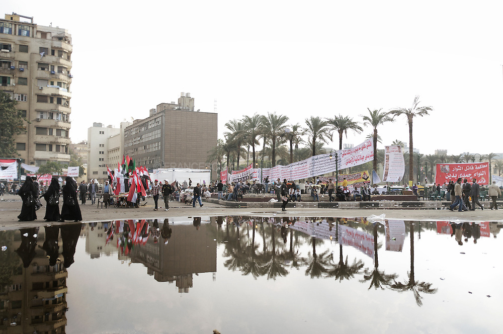 November 28, 2011. Cairo. Egypt. Elections in Egypt. Tahrir Square.