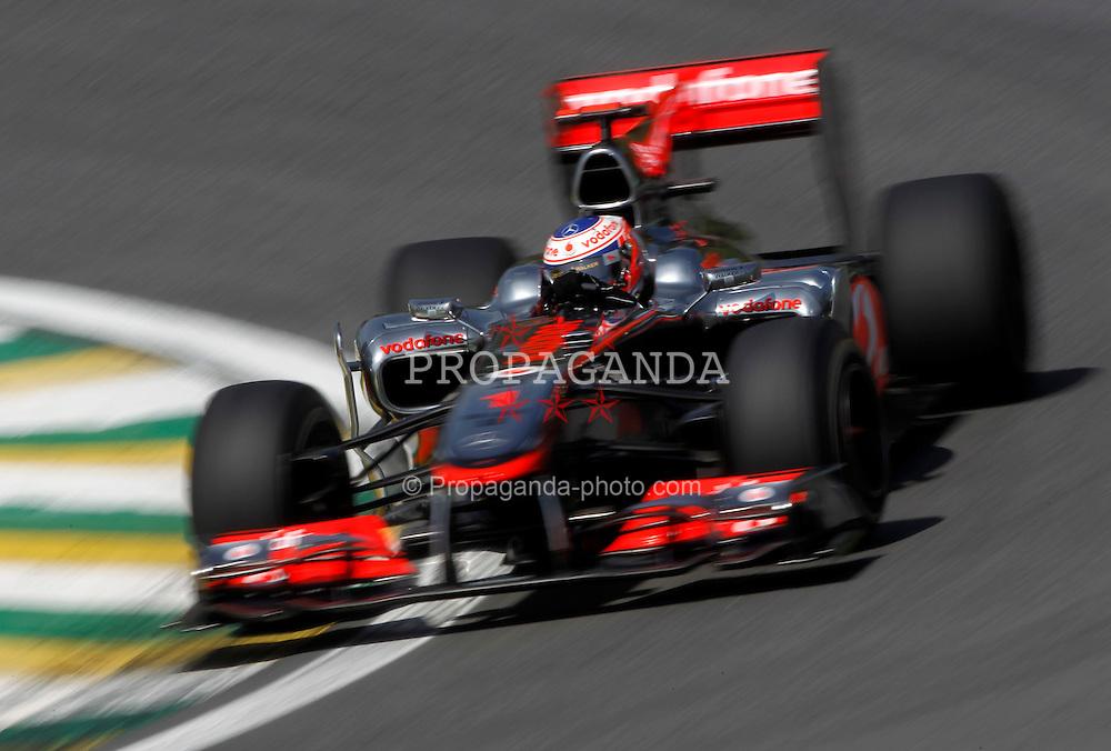 Motorsports / Formula 1: World Championship 2010, GP of Brazil, 01 Jenson Button (GBR, Vodafone McLaren Mercedes),