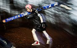 05.01.2014, Paul Ausserleitner Schanze, Bischofshofen, AUT, FIS Ski Sprung Weltcup, 62. Vierschanzentournee, Qualifikation, im Bild Manuel Fettner (AUT) // Manuel Fettner (AUT) during qualification Jump of 62nd Four Hills Tournament of FIS Ski Jumping World Cup at the Paul Ausserleitner Schanze, Bischofshofen, Austria on 2014/01/05. EXPA Pictures © 2014, PhotoCredit: EXPA/ JFK