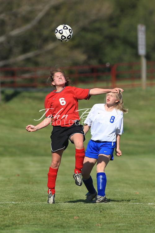 MCHS JV Girl's Soccer .vs George Mason .4/15/2008..