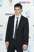 Max Whitlock , British Olympic Ball, Dorchester (Opal Room), London UK, 30 October 2013, Photo by Raimondas Kazenas