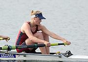Eton, United Kingdom.  Olivia CARNEGIE-BROWN, competing in the Women's Pair  Sat. time trial.  2011 GBRowing Trials, Dorney Lake. Saturday  16/04/2011  [Mandatory Credit; Peter Spurrier/Intersport-images] Venue For 2012 Olympic Regatta and Flat Water Canoe events.