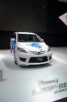 Mazda stand at the Tokyo Motorshow, October 2009.