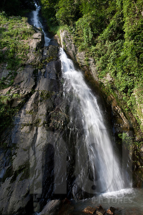 The Silver waterfall in Tam Dao