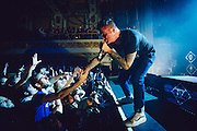 Jordan Pundik/New Found Glory performing live at the Regency Ballroom concert venue in San Francisco, CA on November 15, 2015