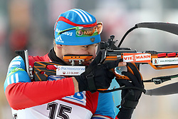 10.12.2011, Biathlonzentrum, Hochfilzen, AUT, E.ON IBU Weltcup, 2. Biathlon, Hochfilzen, Verfolgung Herren, im Bild Shipulin Anton (RUS) // during E.ON IBU World Cup 2th Biathlon, Hochfilzen, Austria on 2011/12/10. EXPA Pictures © 2011. EXPA Pictures © 2011, PhotoCredit: EXPA/ nph/ Straubmeier..***** ATTENTION - OUT OF GER, CRO *****