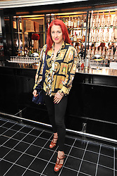 AMY MOLYNEAUX at a brunch hosted by Zac Posen to launch the Belvedere Bloody Mary Brunch held at Le Caprice, 25 Arlington Street, London on 7th April 2011.