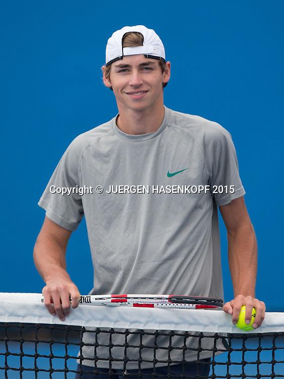 Fabian Fallert<br /> <br /> Tennis - Australian Open 2015 - Grand Slam ATP / WTA -  Melbourne Olympic Park - Melbourne - Victoria - Australia  - 30 January 2015.